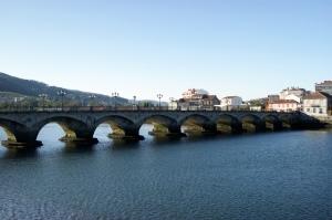 Vista panorámica da Ponte do Burgo.
