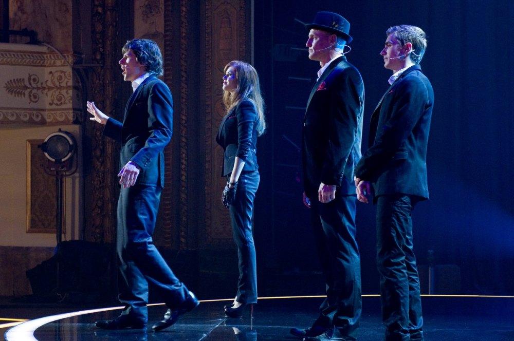 """""""Os catro xinetes"""" durante a súa primeira actuación."""