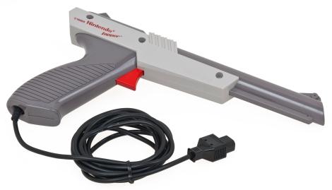 Como funcionan as pistolas das consolas antigas?