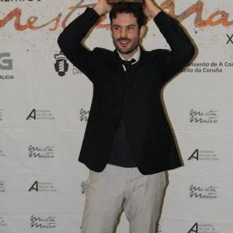 """Premiado ao mellor documental por """"Costa da Morte""""."""