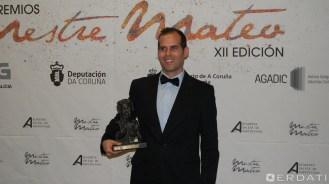 Adrián Pina, premio á mellor montaxe.